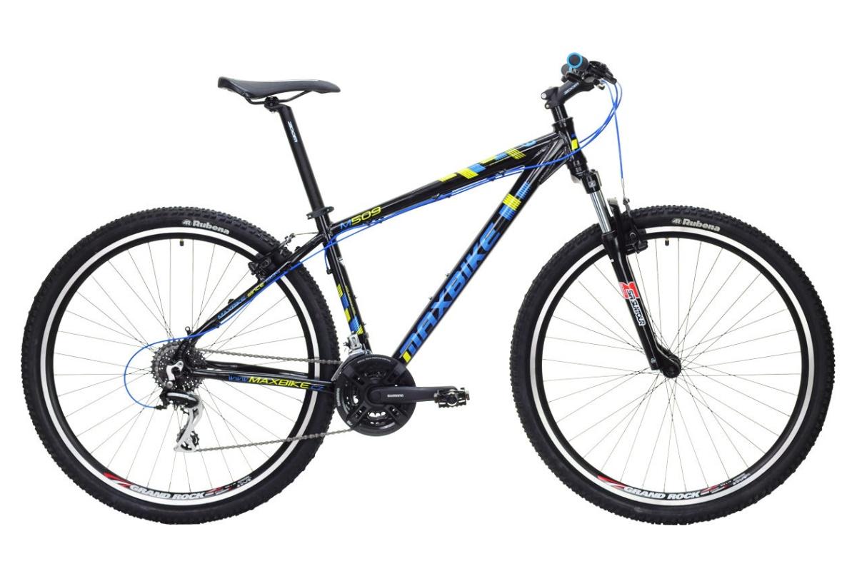 """Horské kolo MAXBIKE Nimba 29 2016 velikost rámu 21"""" - černé"""