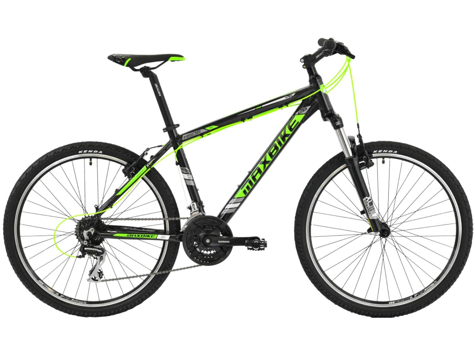 """Horské kolo MAXBIKE Nimba 26 zelené - vel. rámu 17"""""""