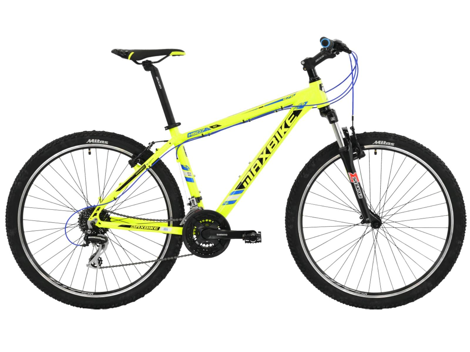 """Horské kolo MAXBIKE Nimba 27.5 zelené - vel. rámu 15"""""""