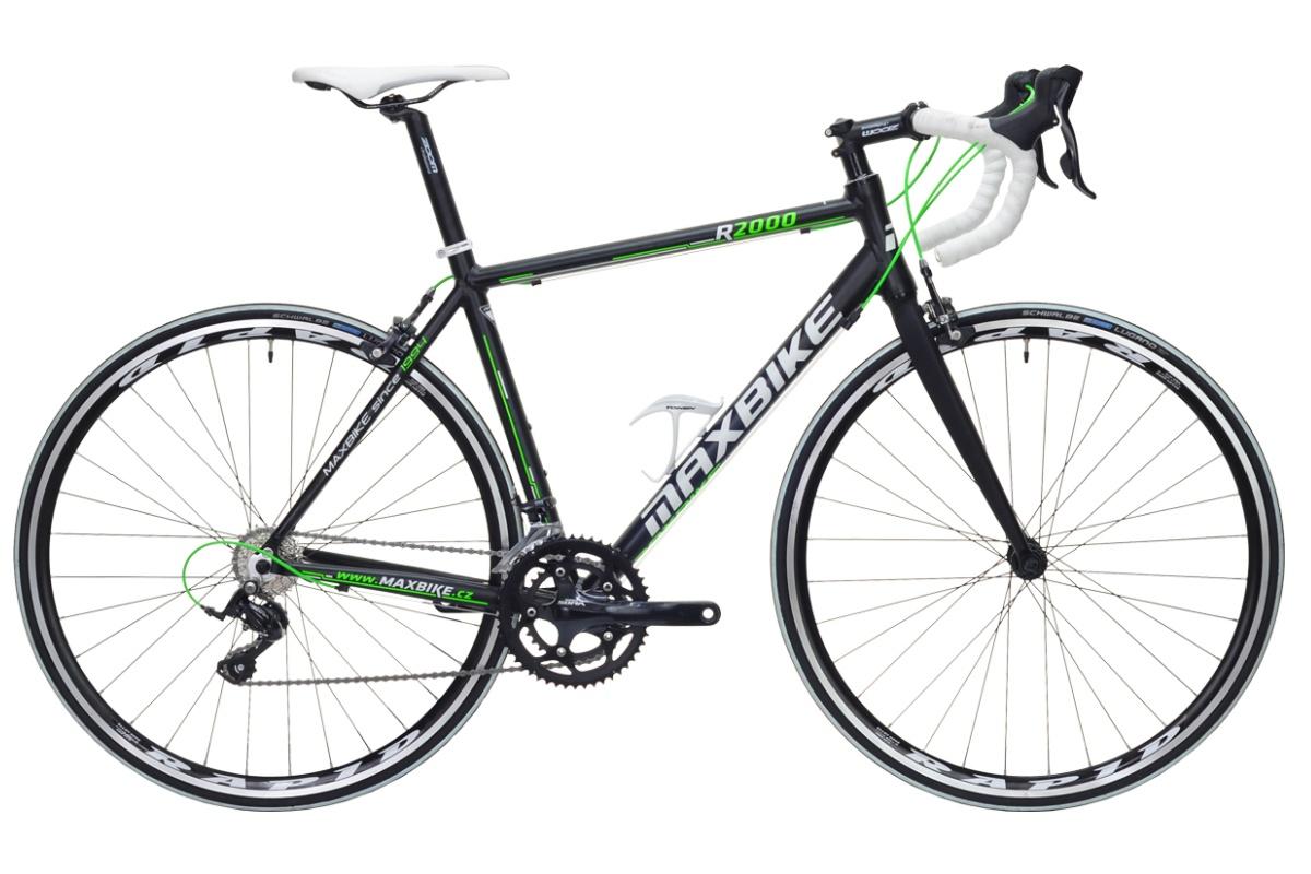 Silniční kolo MAXBIKE Gavia 2016 velikost rámu 46cm - matně černé
