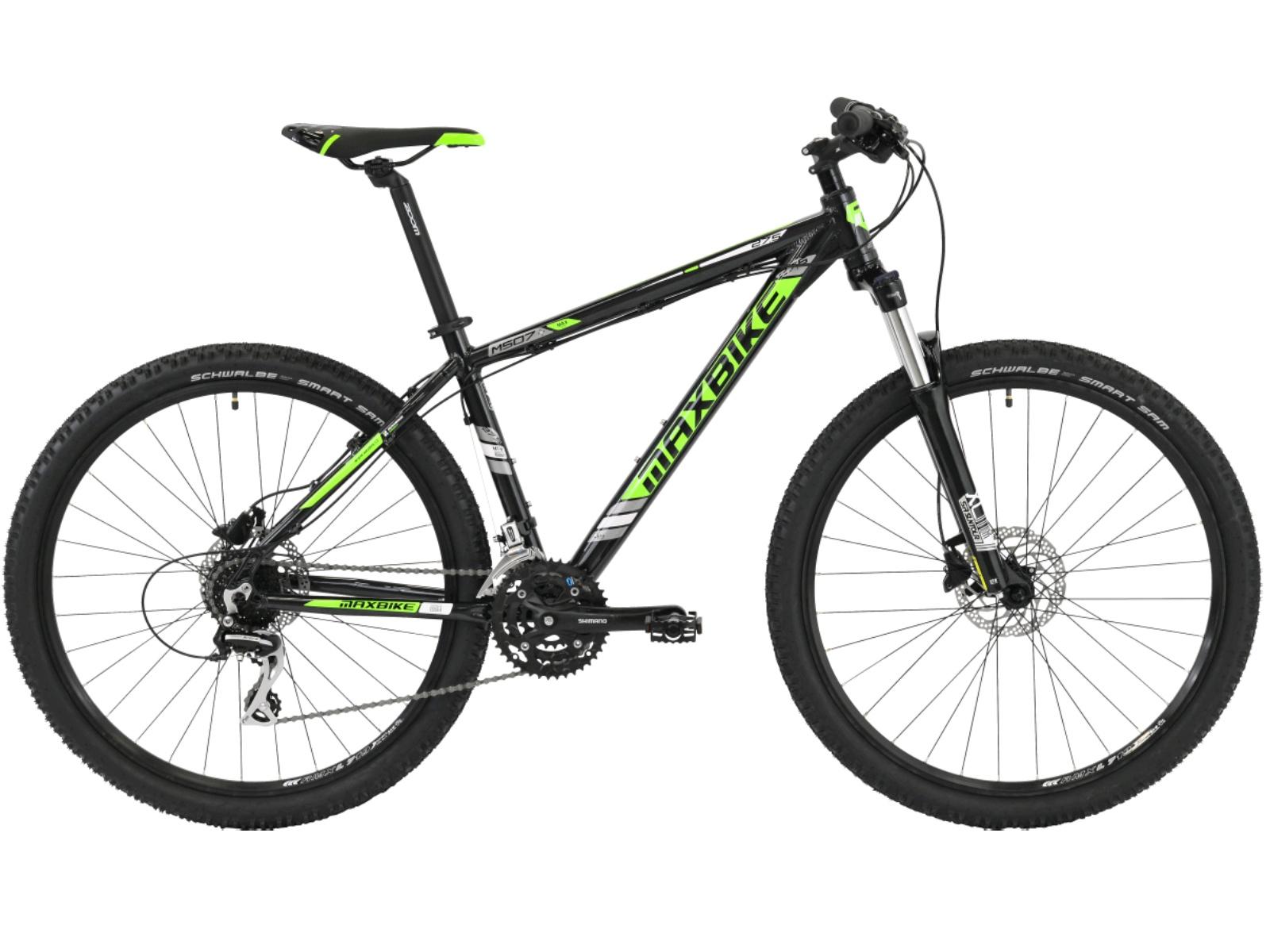 """Horské kolo MAXBIKE Leuser 27.5 zelené - vel. rámu 15"""""""