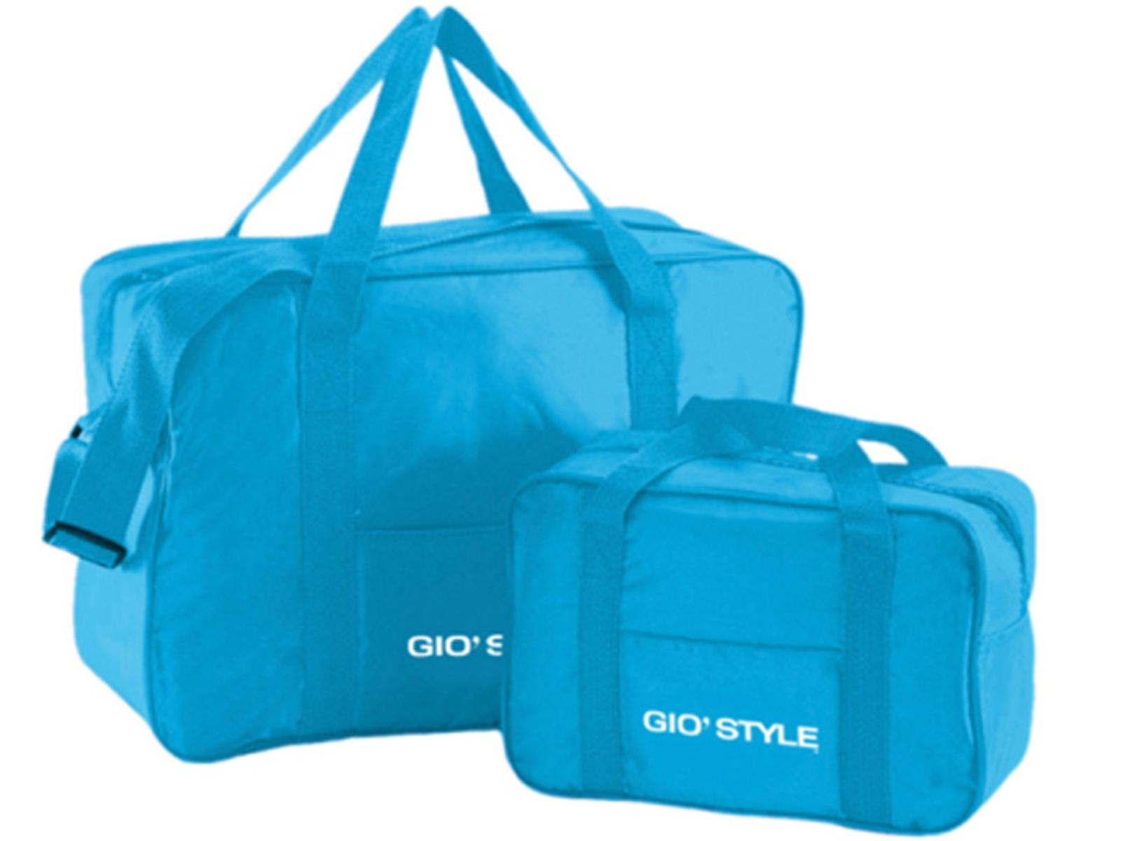 Chladící Taška GIO STYLE Fiesta sada 2 ks - modrá