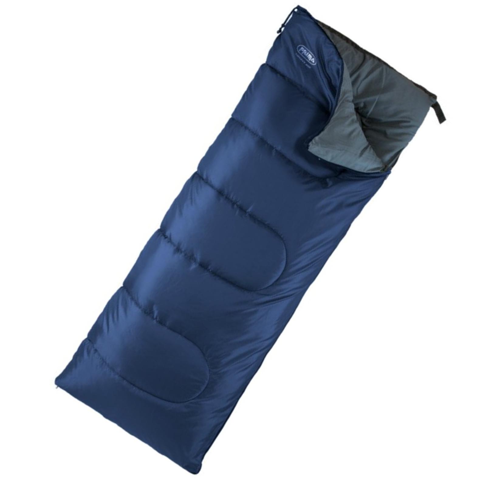 Spací pytel PRIMA Liberty 200 modrý - pravý zip