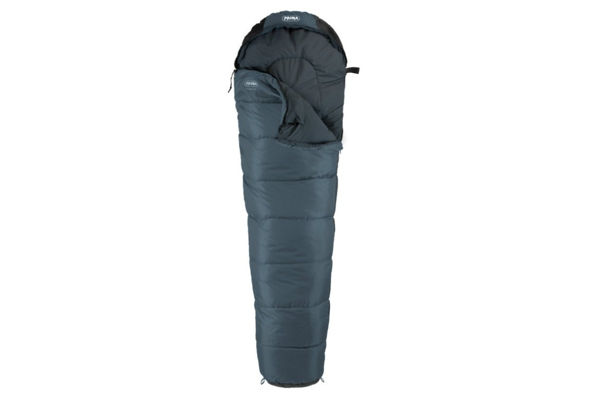 Spací pytel PRIMA Mummy 300 šedý - pravý zip