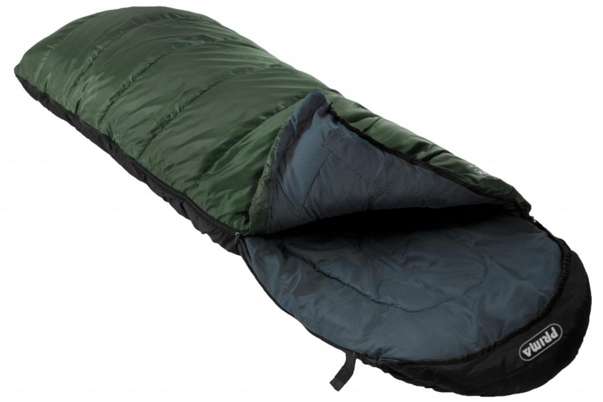 Spací pytel PRIMA Comfort 400 zelený - levý zip