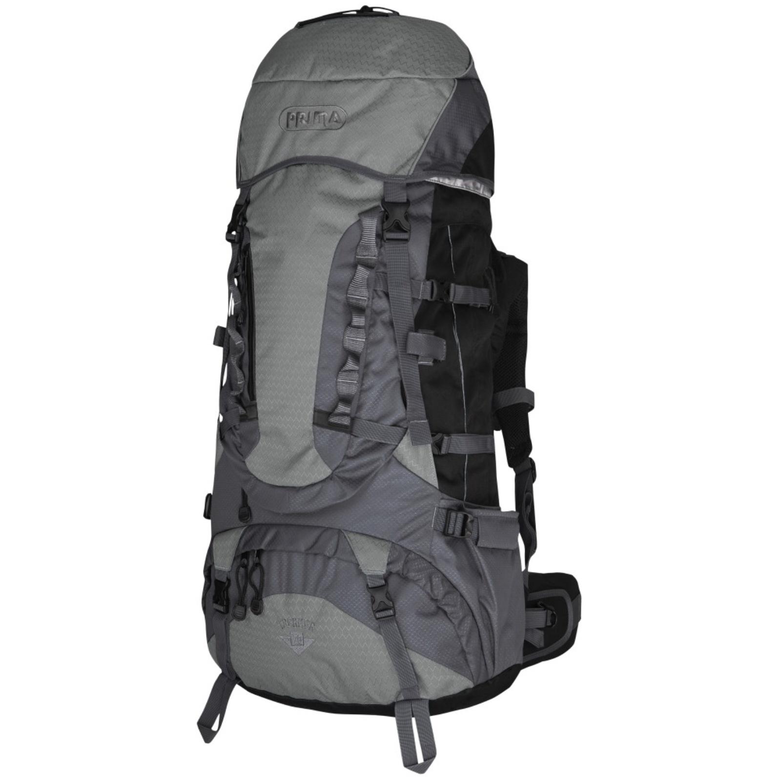 Batoh PRIMA Trekker 55 - šedý