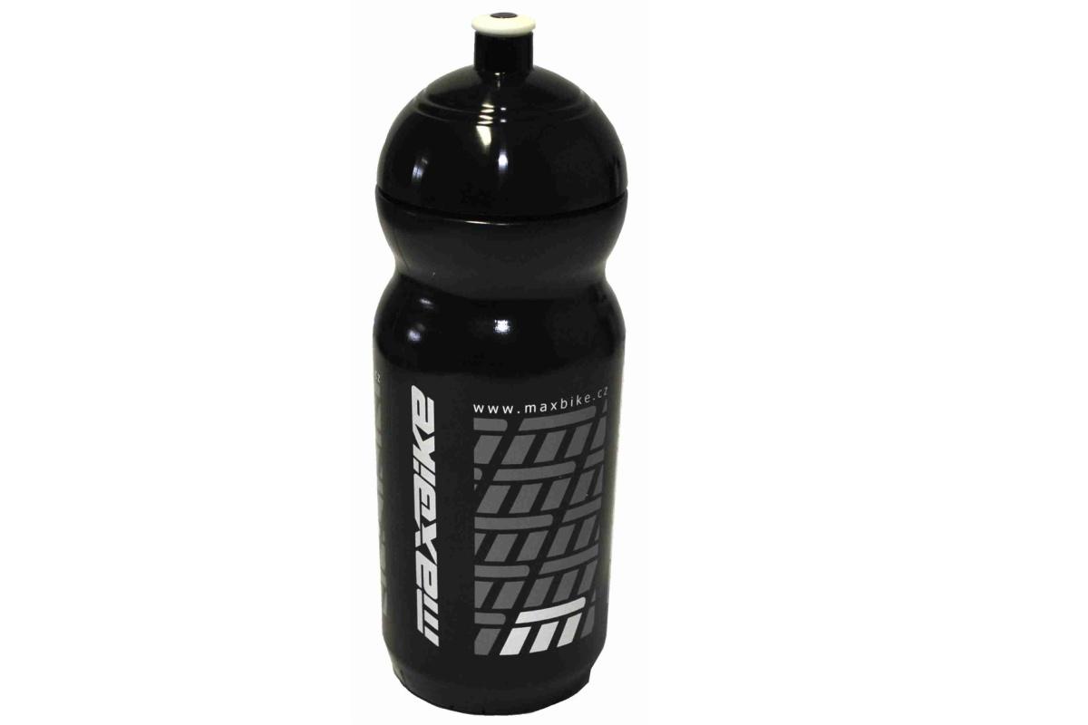 Cyklo láhev MAXBIKE 0,6 l se závitem - černá