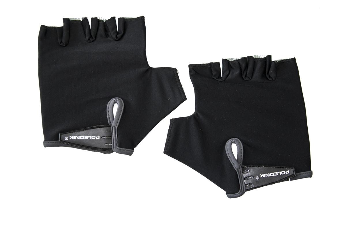 Cyklo rukavice POLEDNIK Basic pánské velikost XL - černé