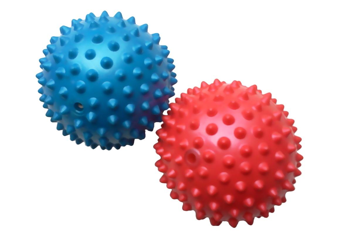 Masážní míček UNISON UN 2017 90 mm modrý