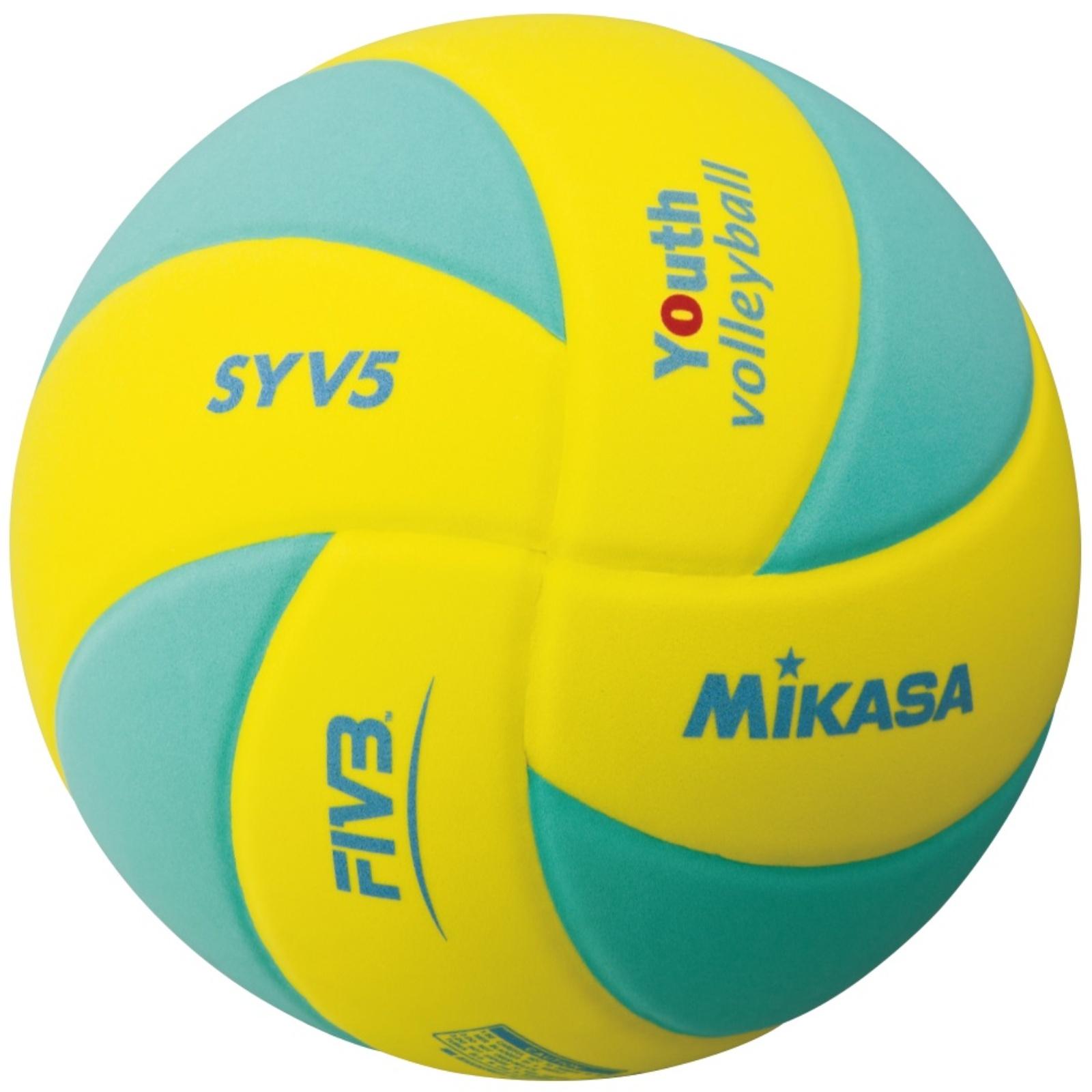 Volejbalový míč MIKASA Kids SYV5 zelený