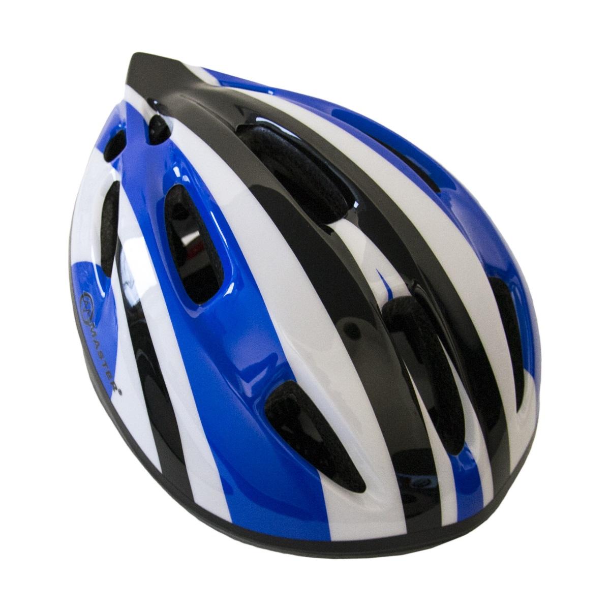Cyklo přilba MASTER Flash - M - modrá