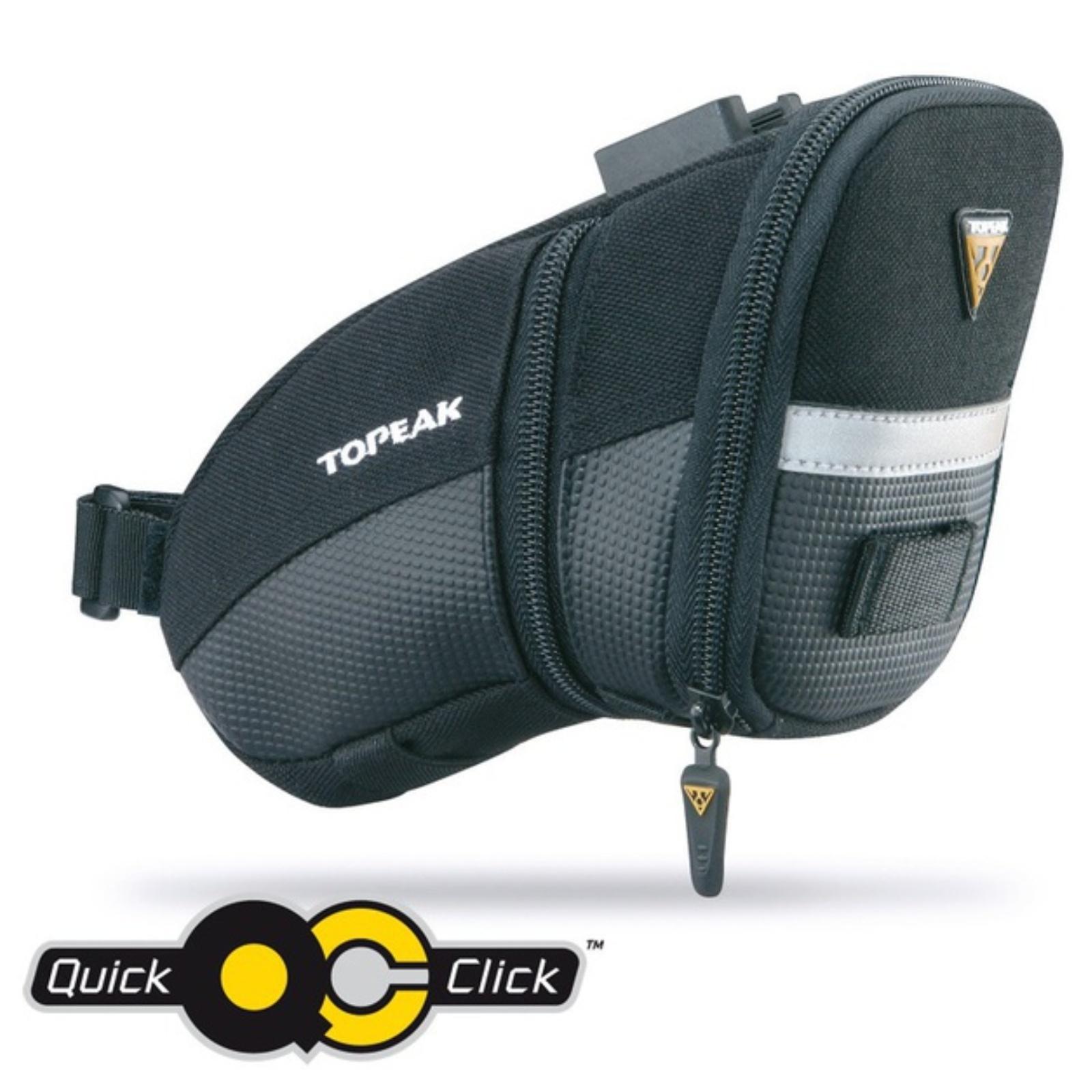 Cyklo brašna TOPEAK AERO WEDGE PACK Medium s Quick Click podsedlová