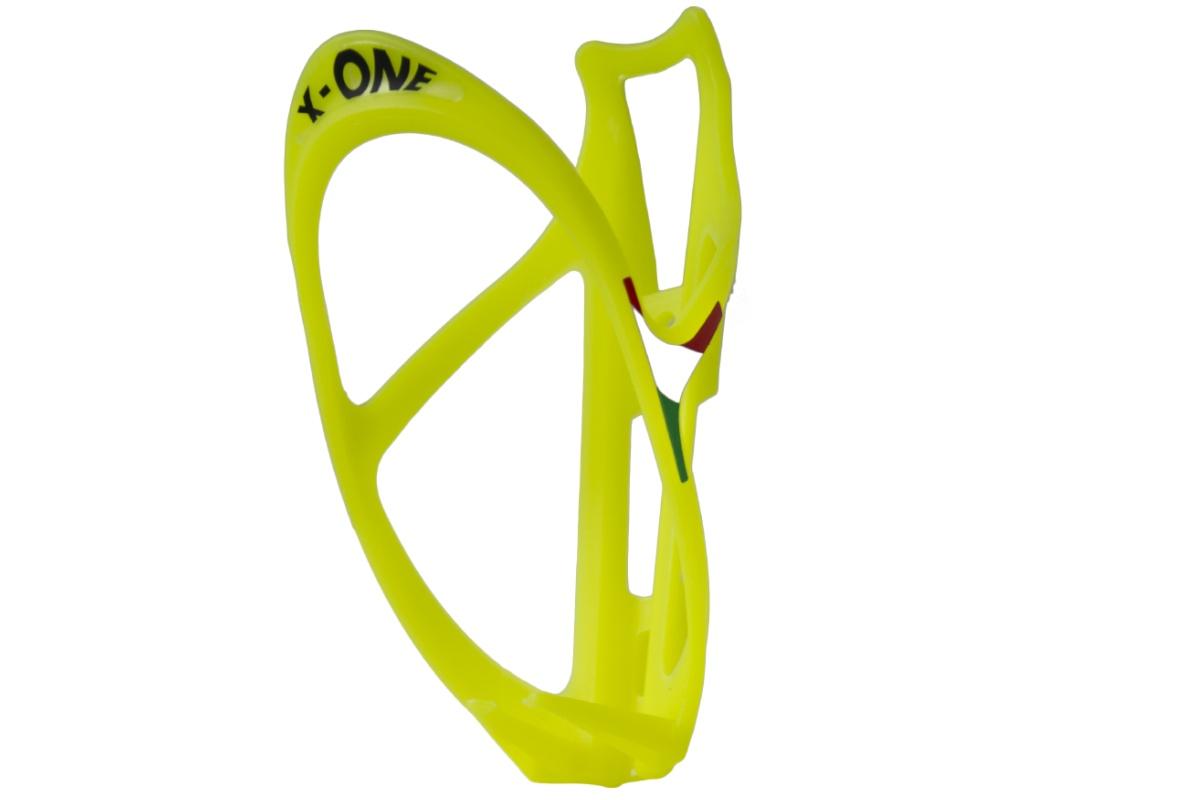 Držák na láhev X-ONE - reflexní žlutý