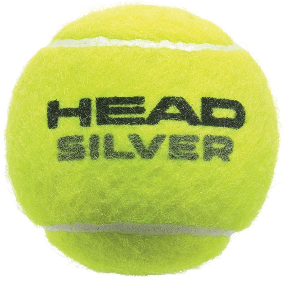 Tenisové míčky HEAD SILVER 4 ks