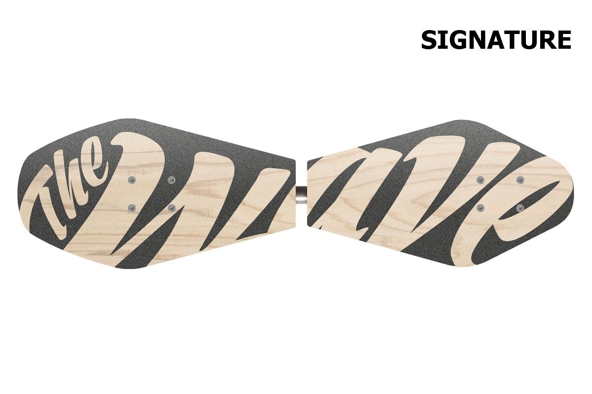Waveboard STREET SURFING Wave rider Signature - dřevěný