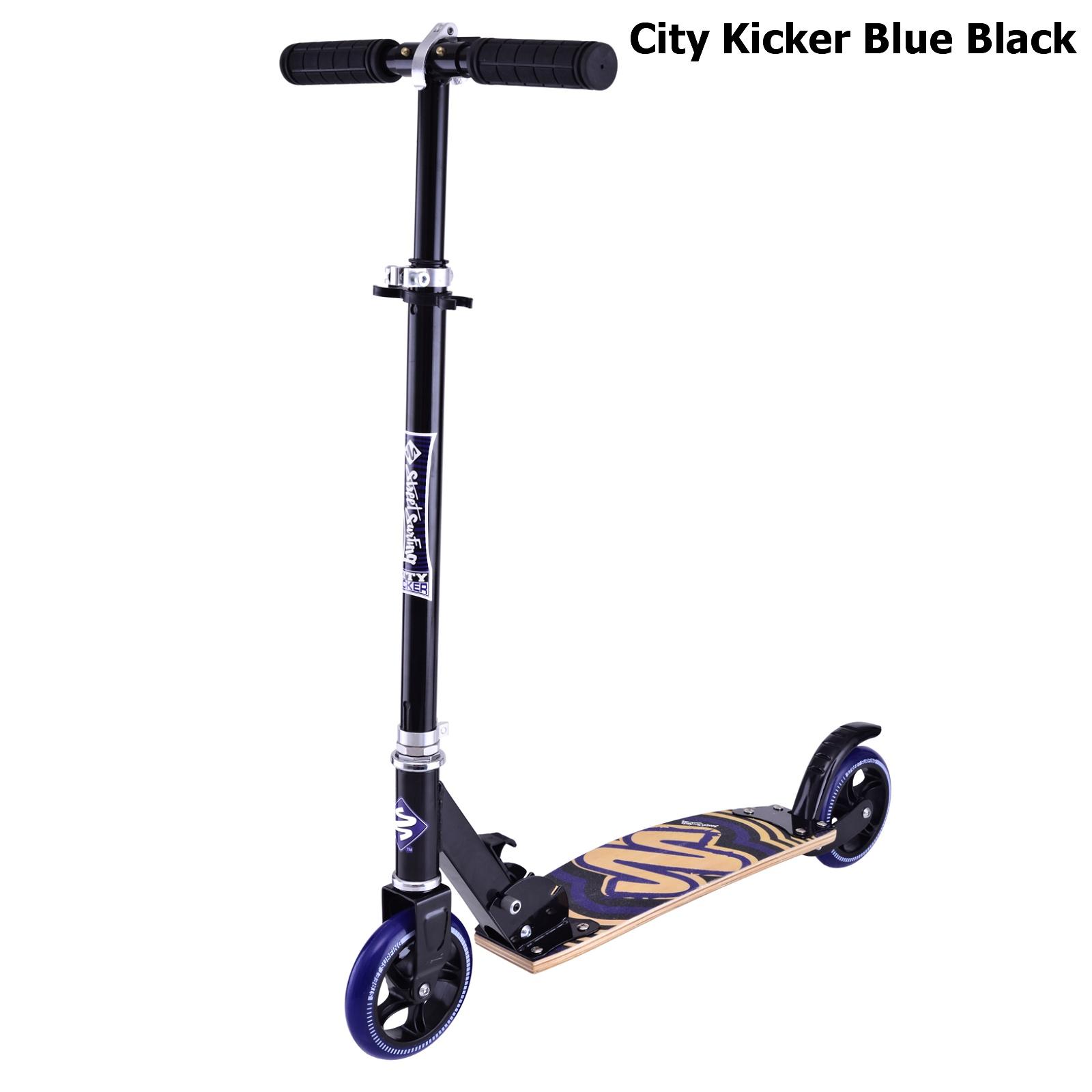 Koloběžka STREET SURFING City Kicker - modro-černá