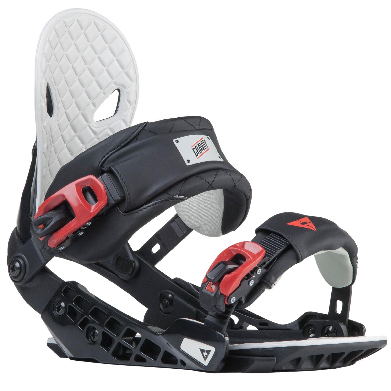 Snowboard vázání GRAVITY G2 pánské černé - vel. L