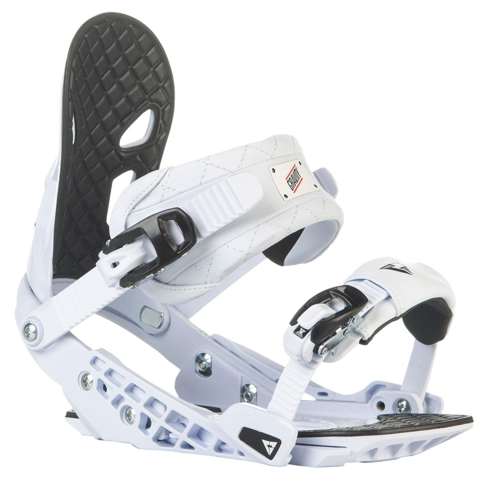 Snowboard vázání GRAVITY G2 pánské bílé - vel. L