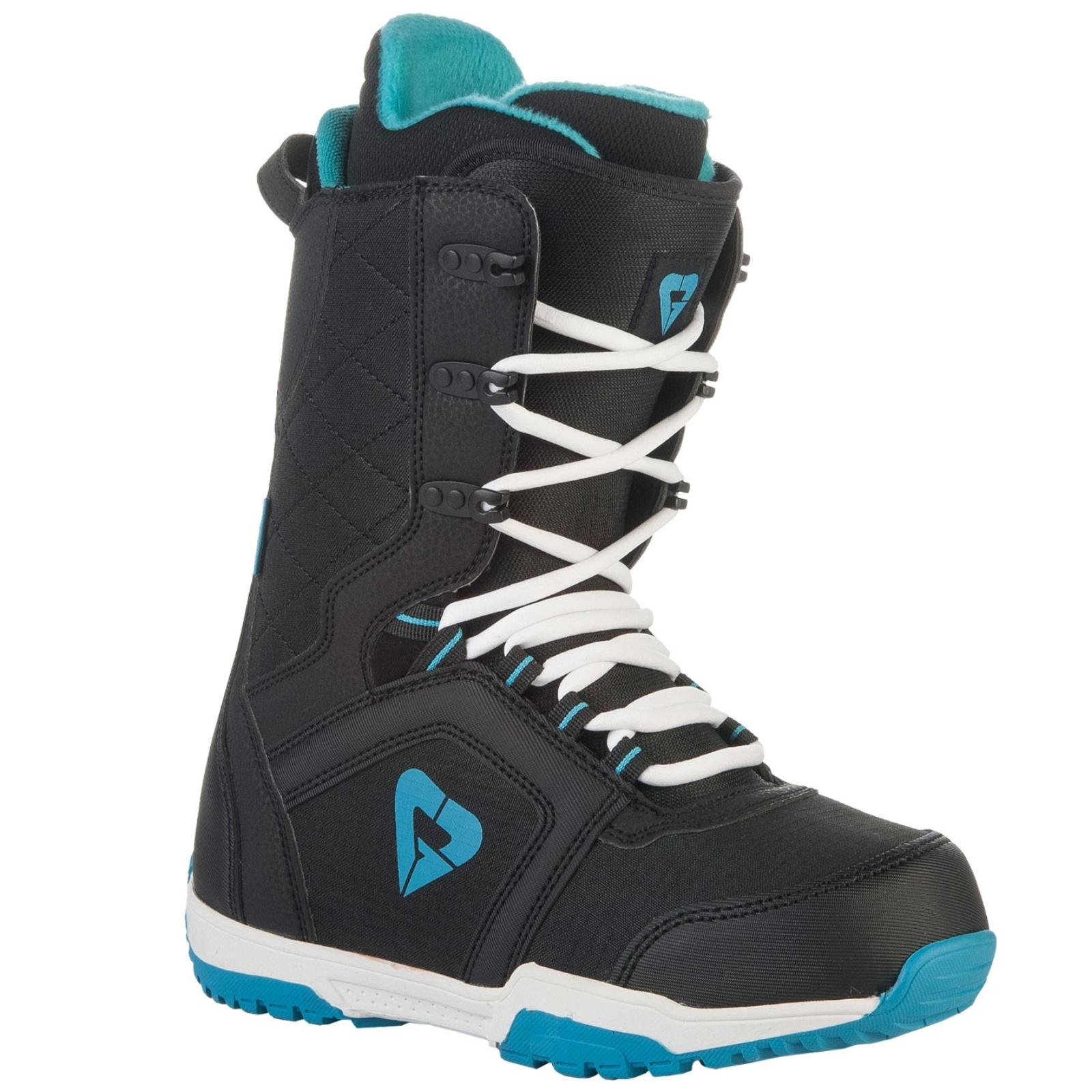 Boty na snowboard GRAVITY Aura - černé - vel. 38