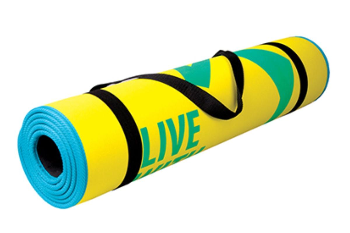 Podložka na cvičení SPOKEY Flexmat žlutá