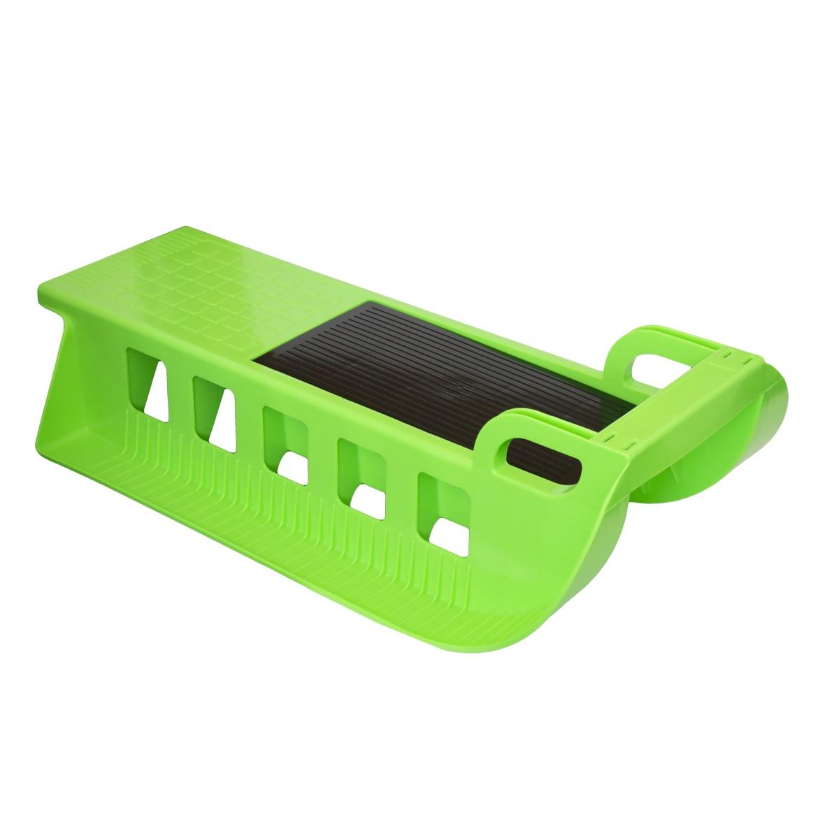 Sáně Kamzík - plastové - zelené