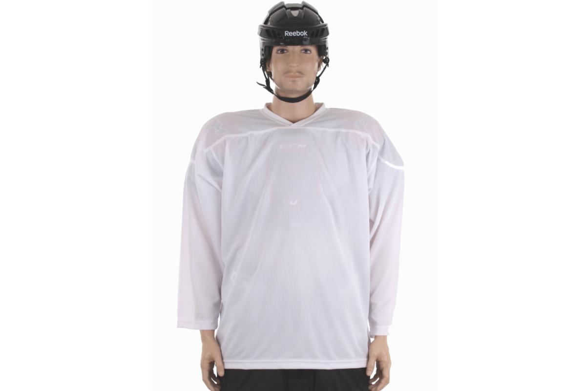 Hokejový dres MERCO HD-2 velikost XXL - bílý