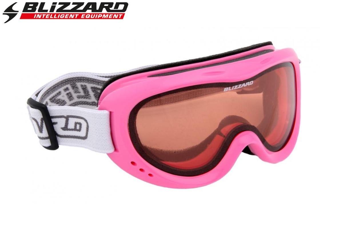 Lyžařské brýle BLIZZARD 907 DAO - junior - růžové