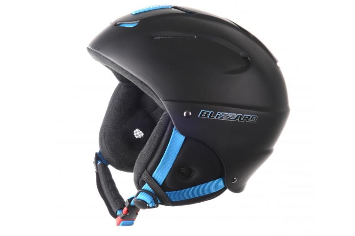 Lyžařská přilba BLIZZARD Mega 52-56 černá-modrá