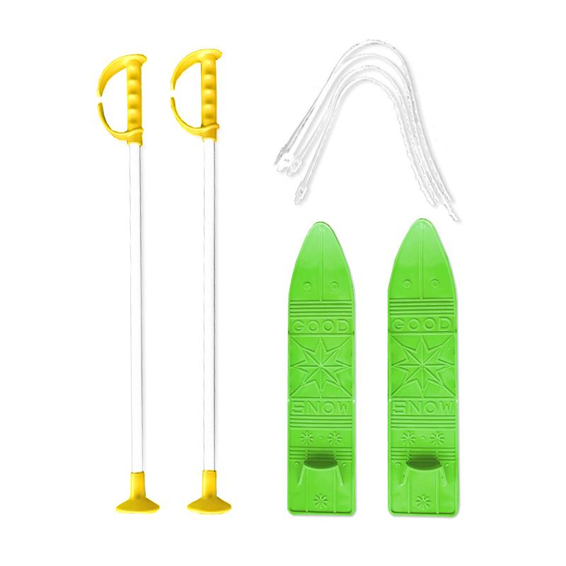 Baby Ski 40 cm - dětské plastové lyže - zelené