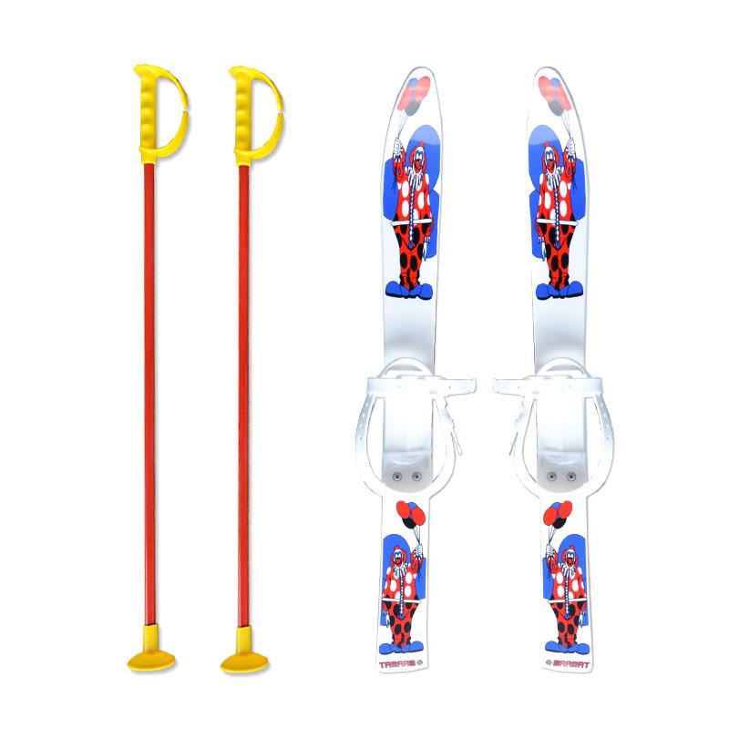 Baby Ski 70 cm - dětské plastové lyže - bílé