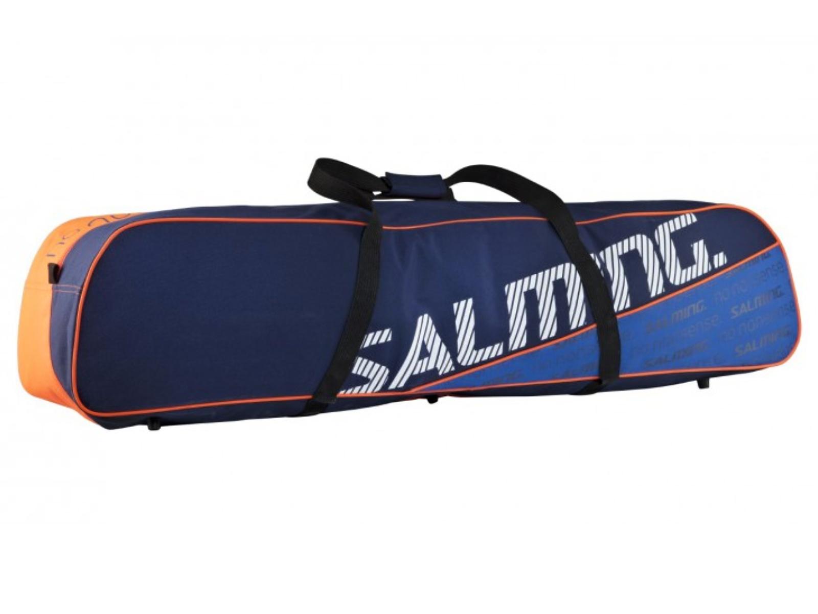 Florbalový vak SALMING Tour Toolbag Senior modrá/oranžová