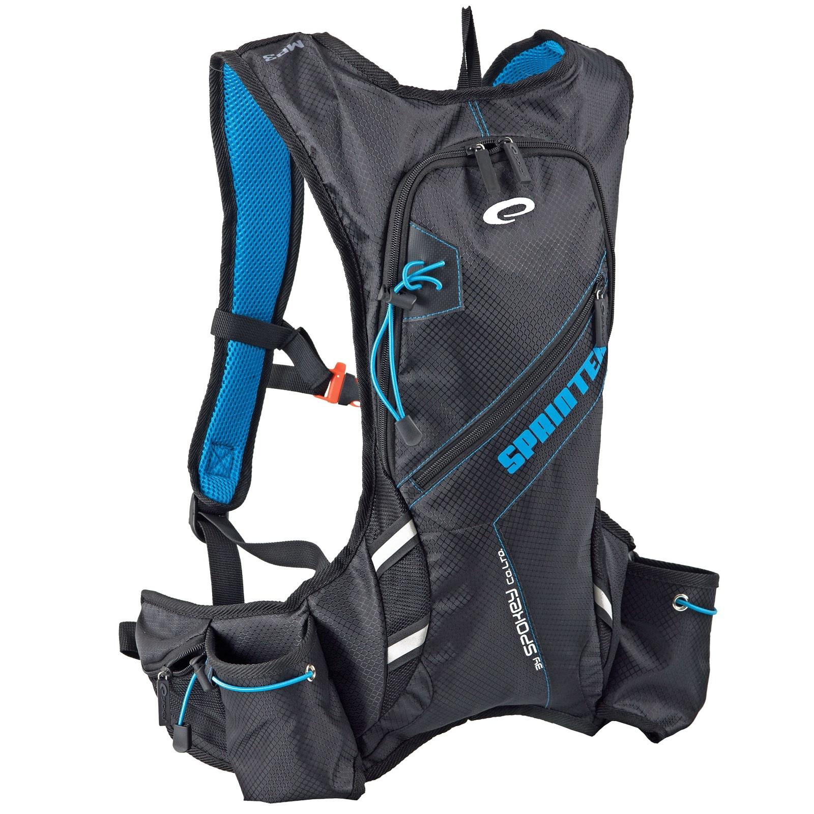 Batoh SPOKEY Sprinter 5L modro-černý, cyklistický