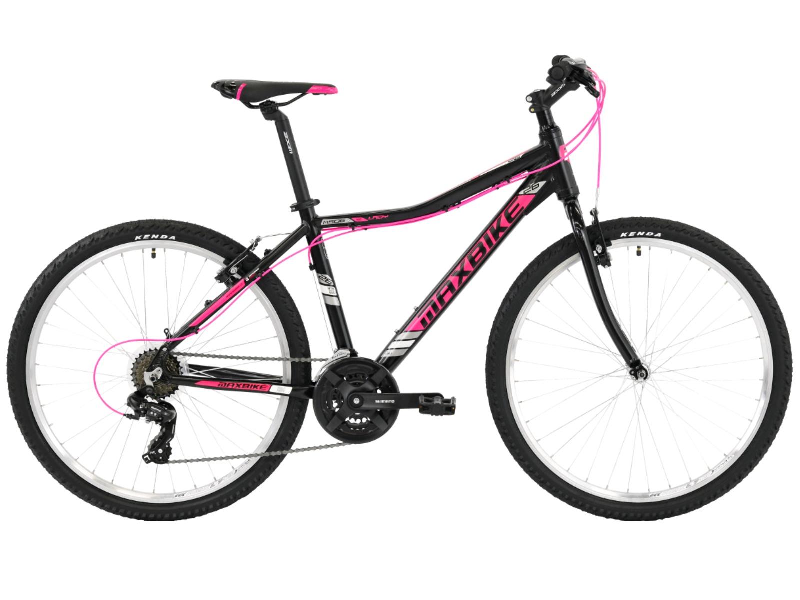 """Horské kolo MAXBIKE Soira 26 dámské růžové - vel. rámu 17"""""""