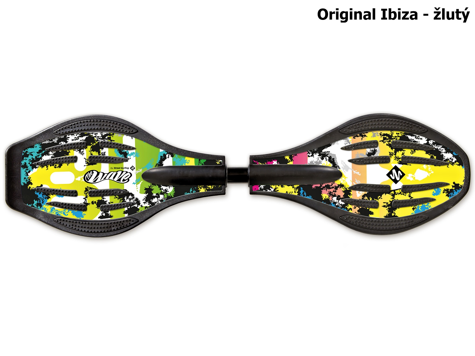 Waveboard STREET SURFING Original Ibiza - žlutý