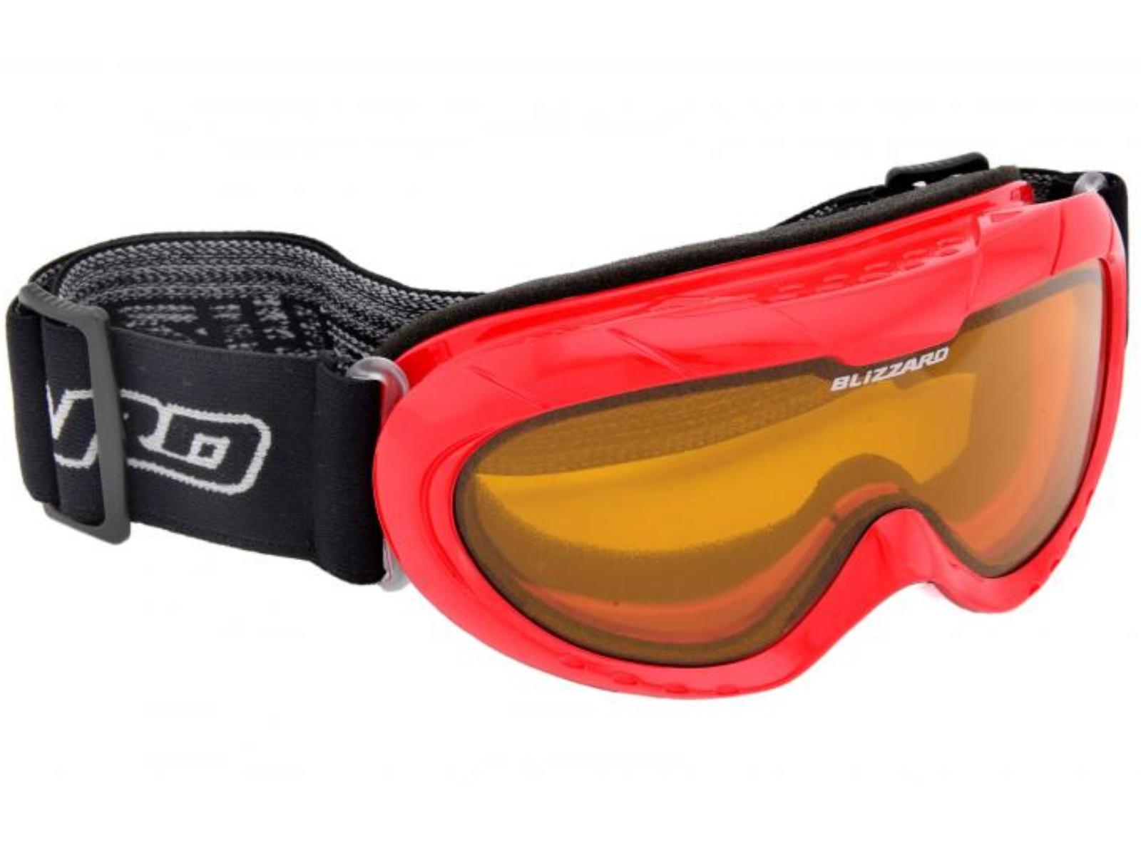Lyžařské brýle BLIZZARD 902 DAO - junior - červené