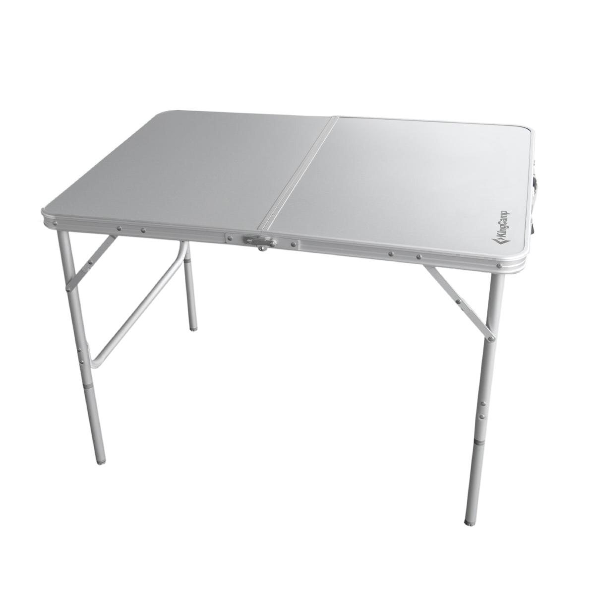 Kempingový stůl Alu - 100 x 70 cm