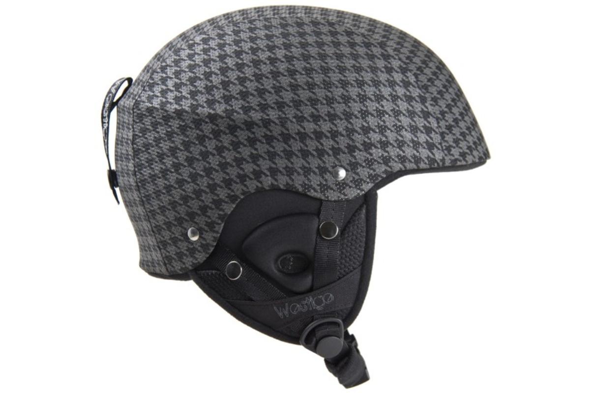 Lyžařská přilba WESTIGE Dandy textile XS - černá