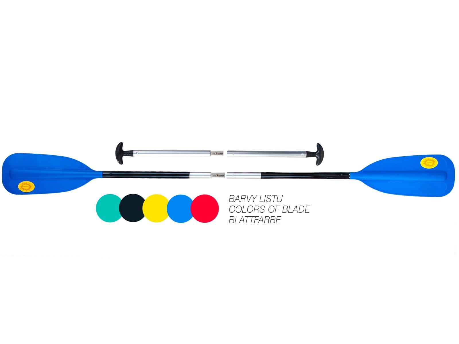 Pádlo PANDA kombinace modré - vel. 190 cm
