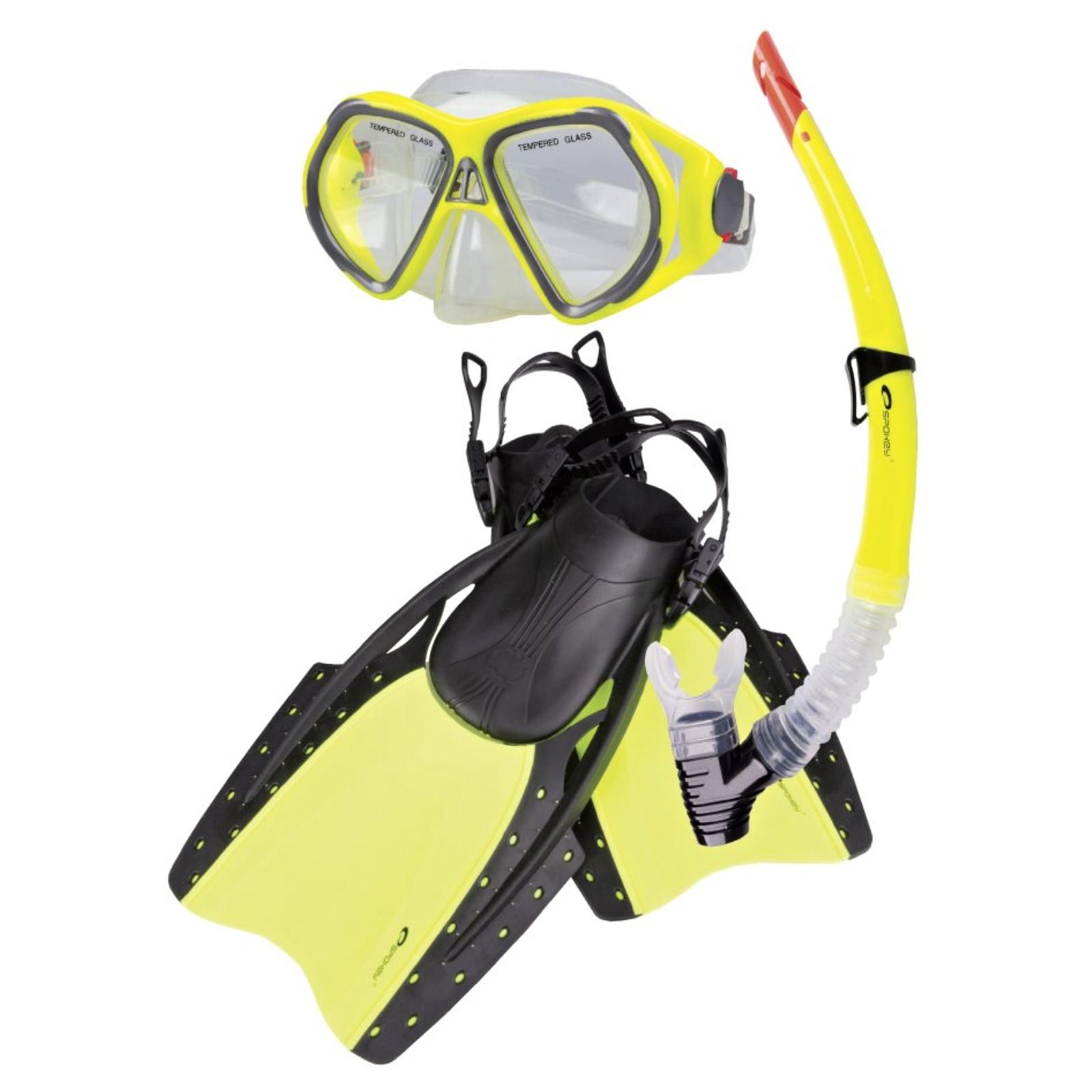 Potápěčský set SPOKEY Reef - L/XL 42-46