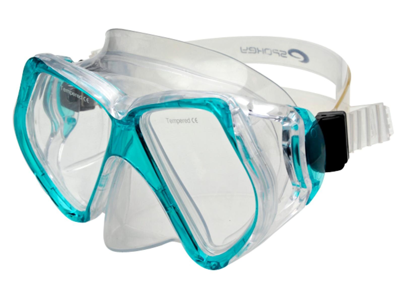 Potápěčské brýle SPOKEY Natator - tyrkysové