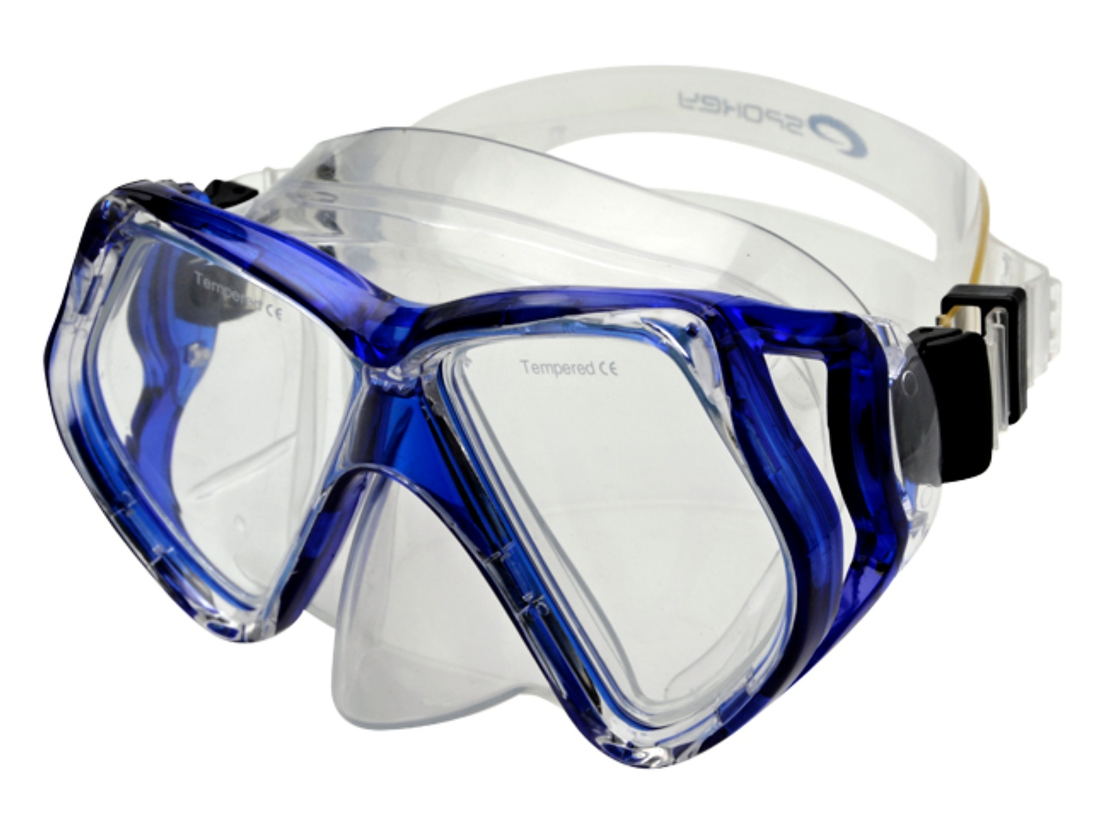 Potápěčské brýle SPOKEY Natator - modré