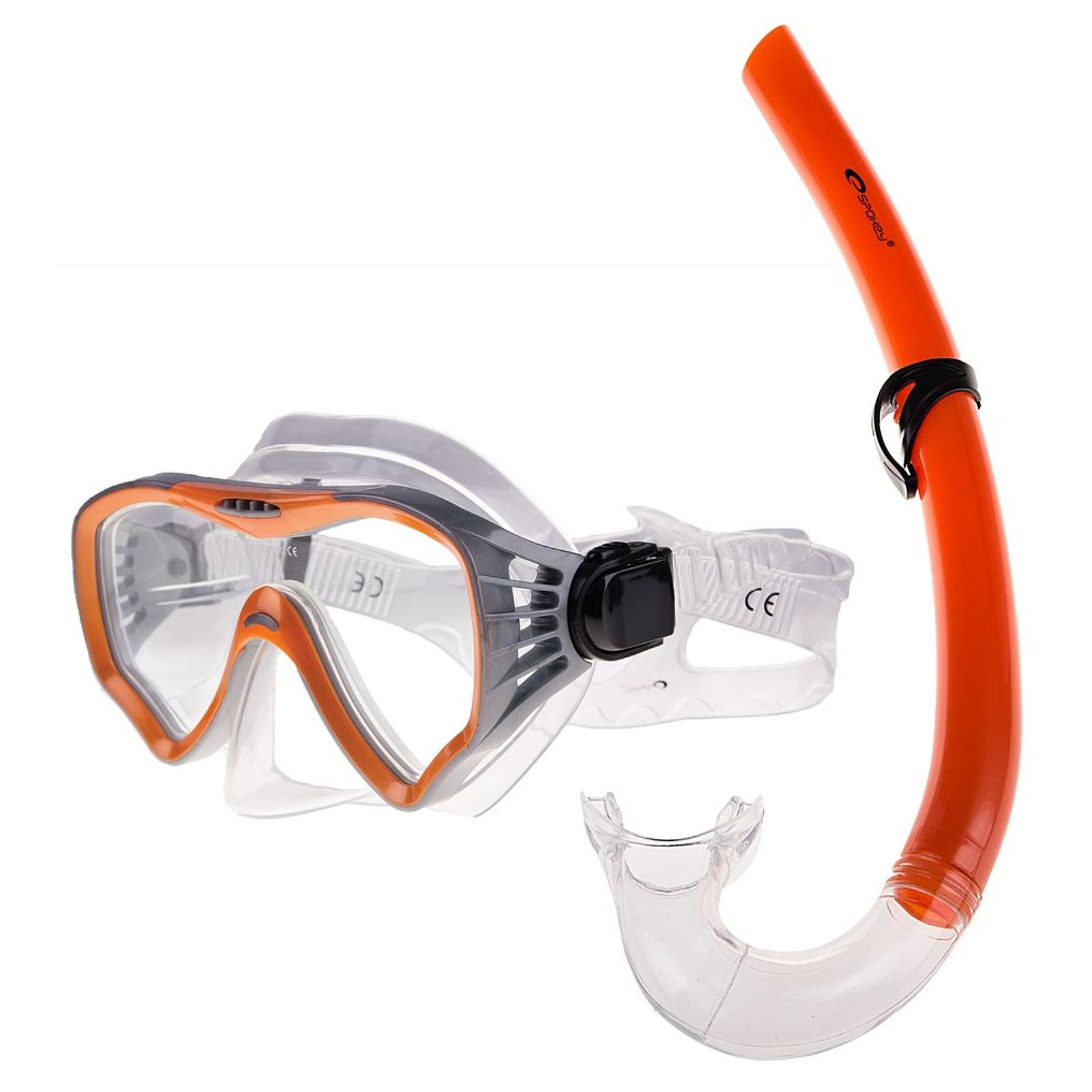 Potápěčský set SPOKEY Moana oranžový