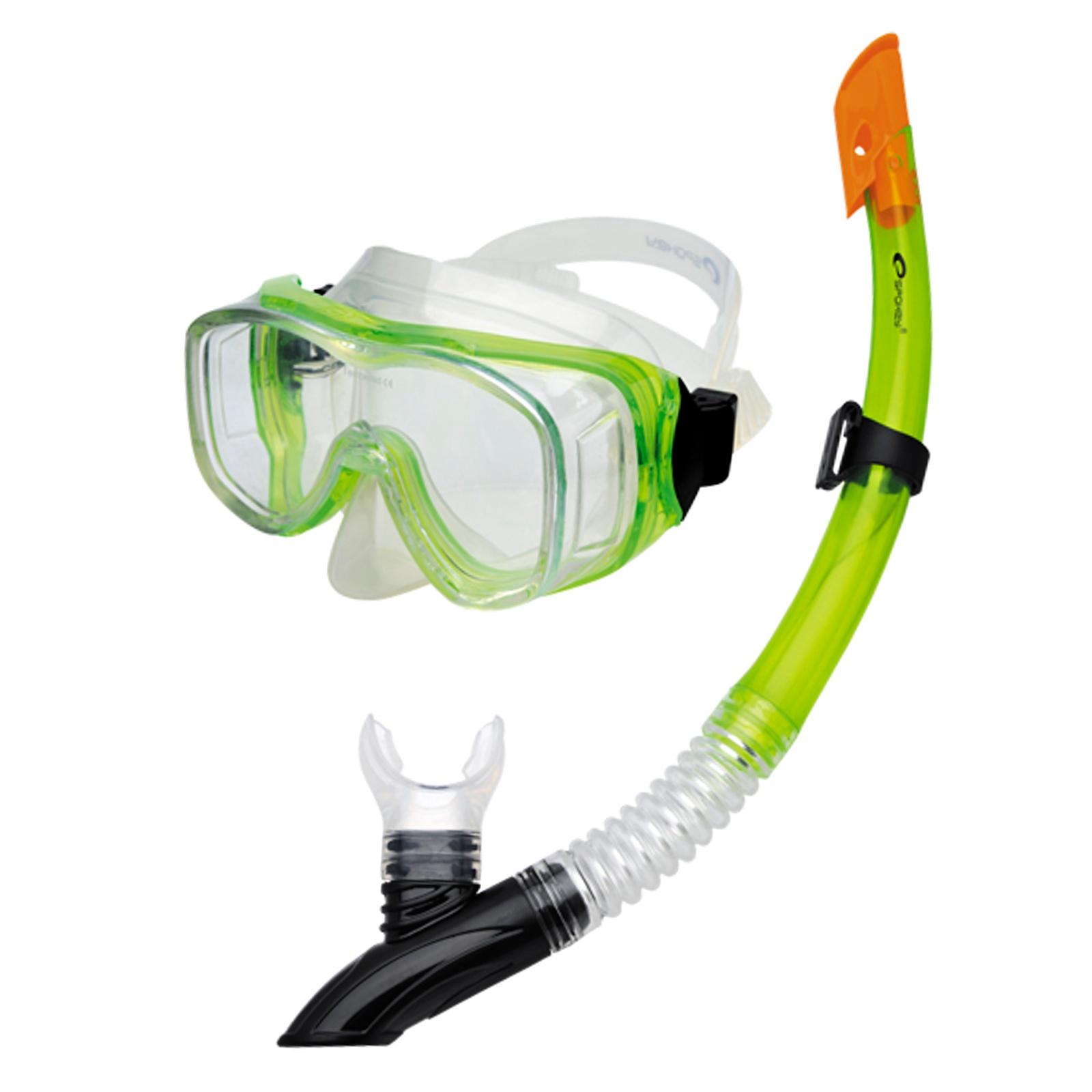 Potápěčský set SPOKEY Cefeusz - zelený
