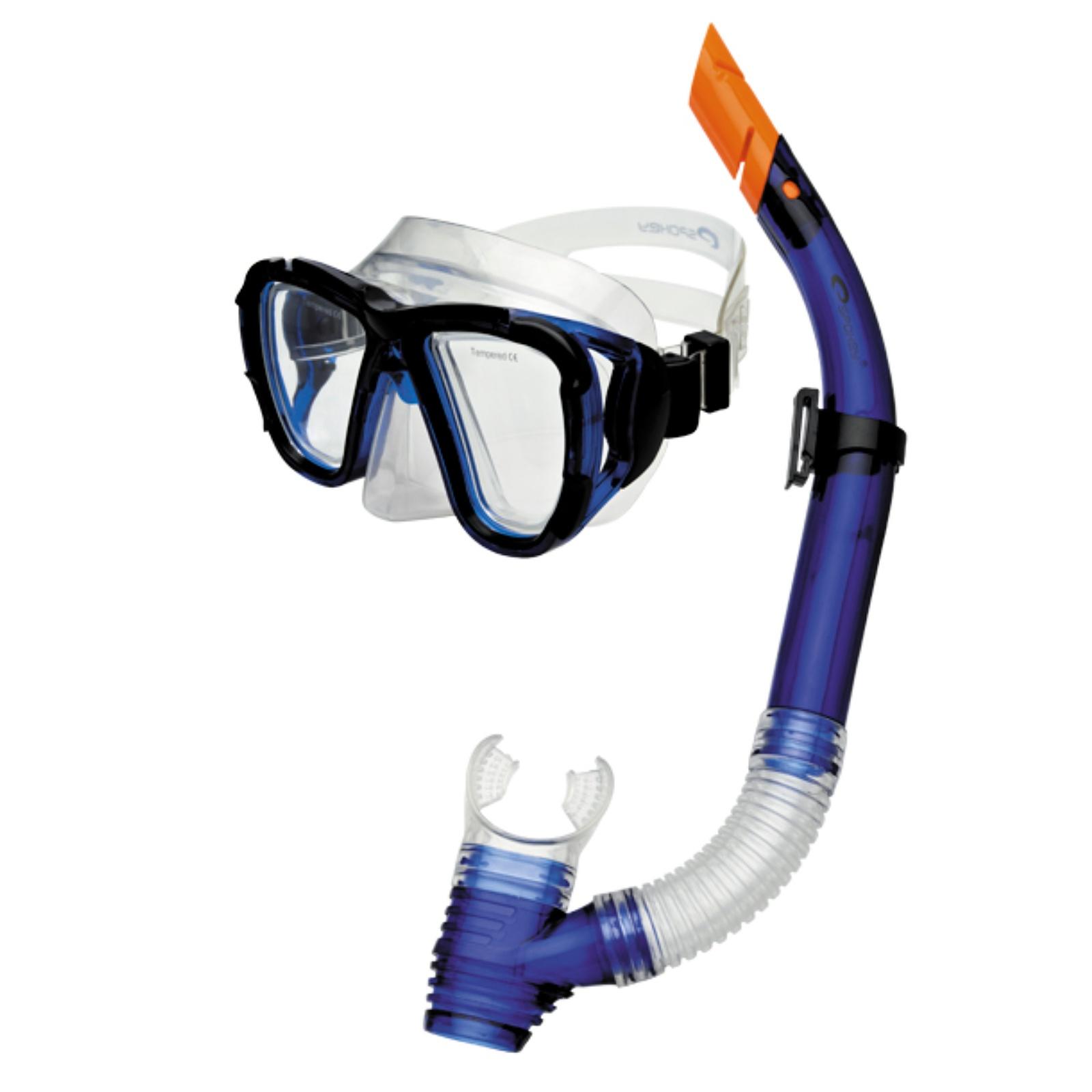 Potápěčský set SPOKEY Coral - modrý