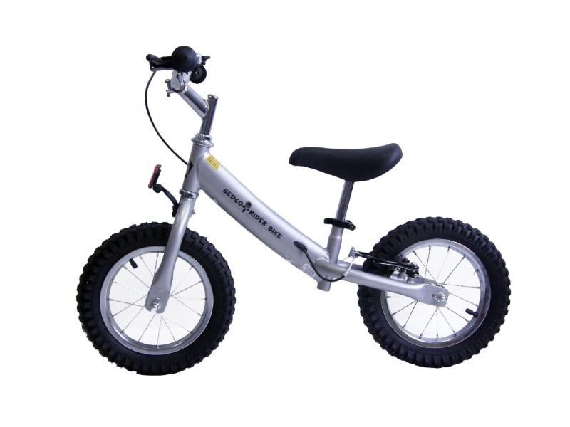 Dětské odrážedlo SEDCO Rider Bike - stříbrné