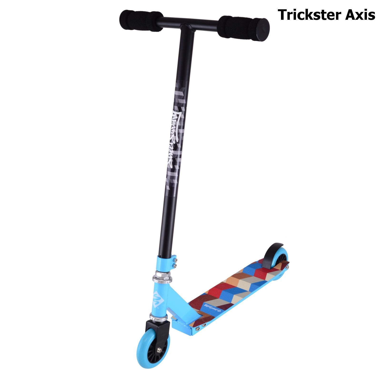 Freestylová koloběžka STREET SURFING Trickster Axis modro-černá