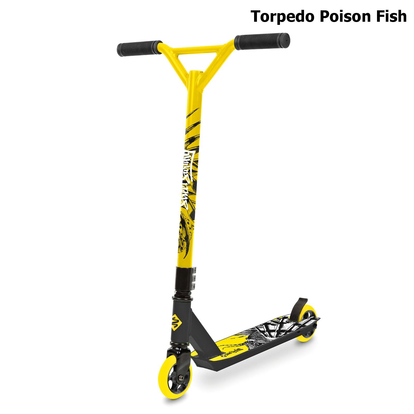 Freestylová koloběžka STREET SURFING Torpedo Poison Fish