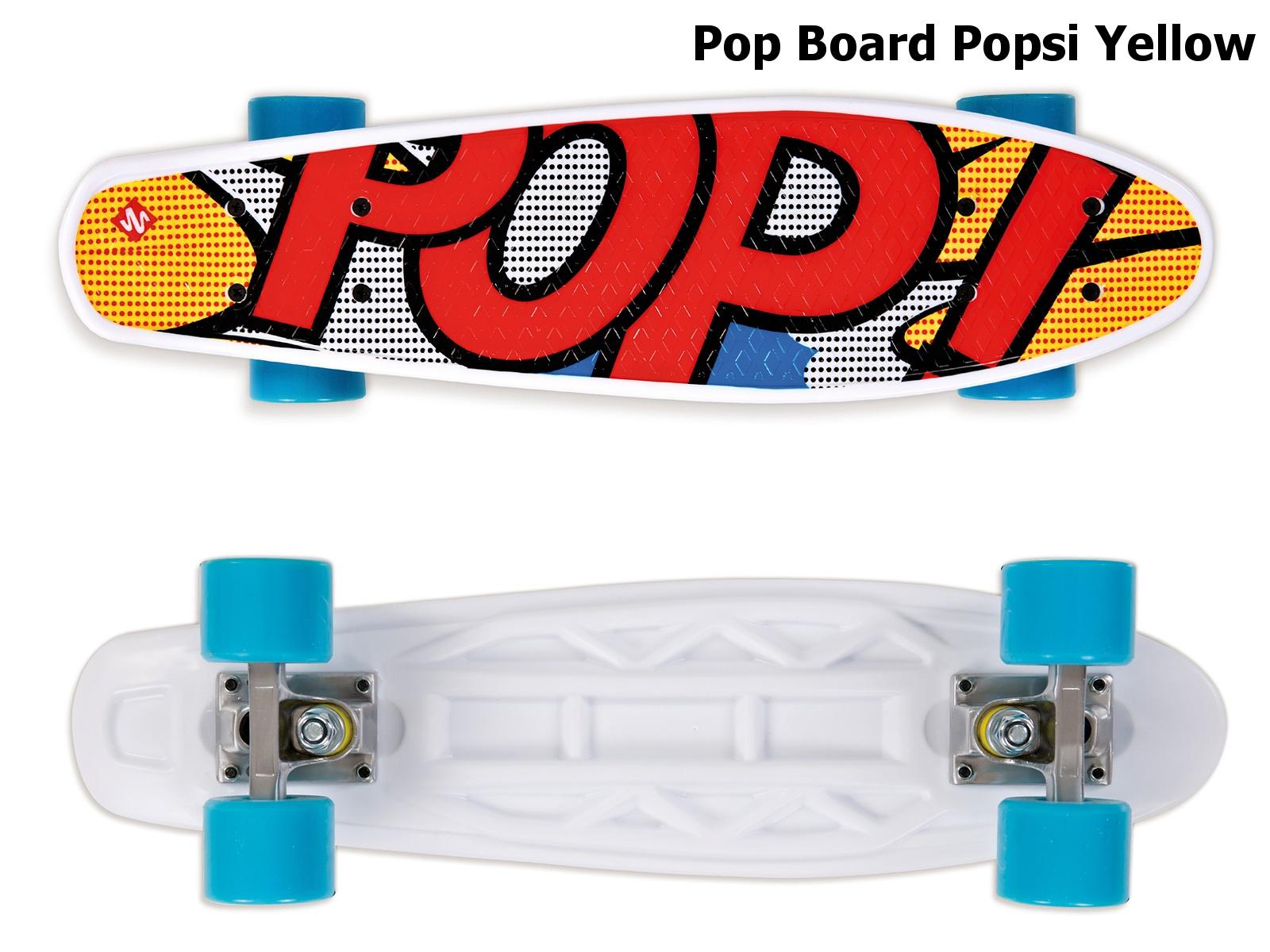 Skateboard STREET SURFING Pop Board Popsi Yellow - žlutý