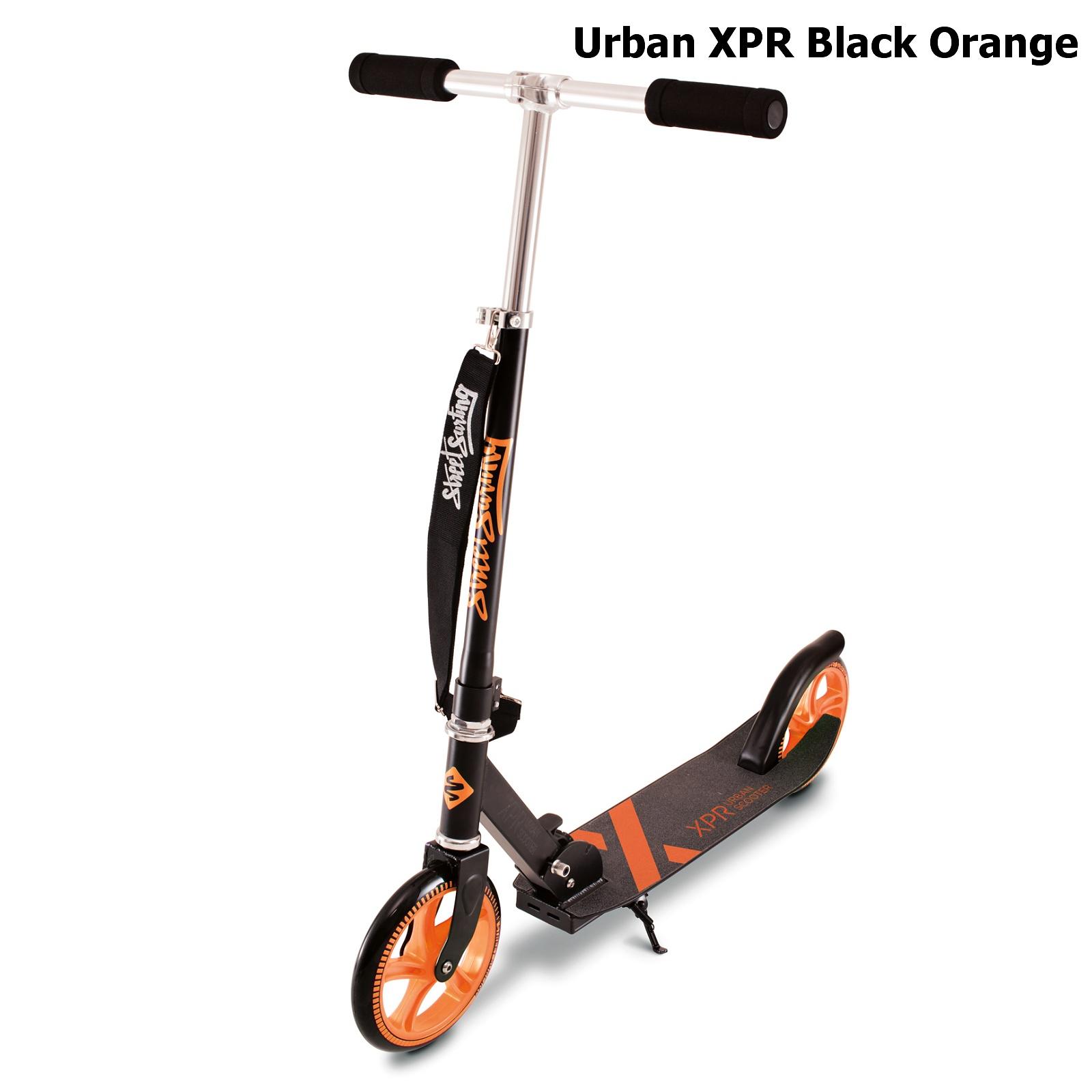 Koloběžka STREET SURFING Urban XPR - černo-oranžová