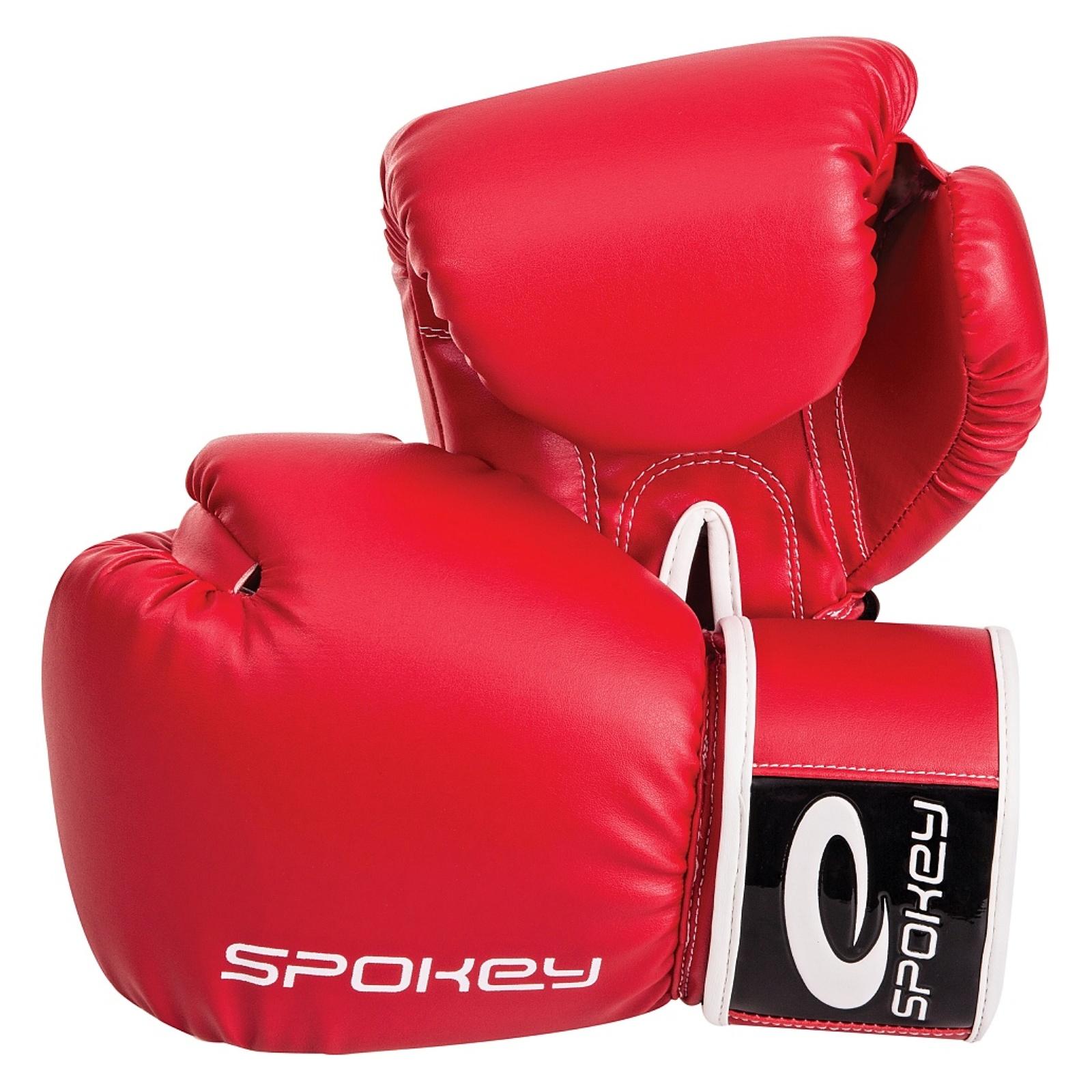 Boxerské rukavice SPOKEY Ninigi červené - vel. 10oz